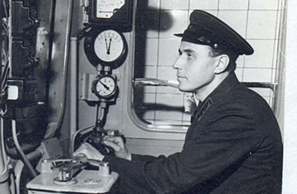Перший день роботи метро. Машиніст Виноградов І.А.